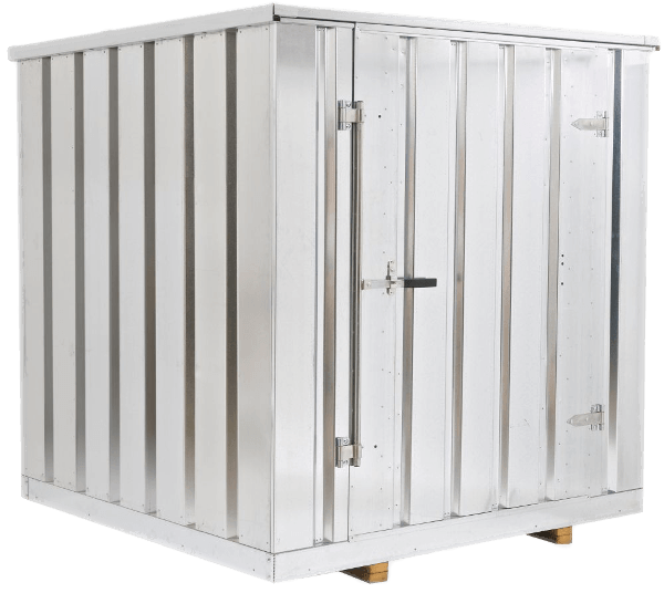 Weststeel Metal Sheds Closed-min  sc 1 st  Highway Two Storage & Portable Steel Storage Containers - Metal Sheds - Shed Kits